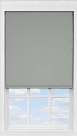 Premium Roller Blind in Marl Grey Blackout