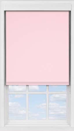Premium Roller Blind in Pink Macaroon Blackout
