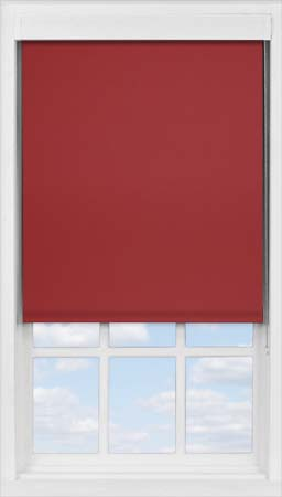 Premium Roller Blind in Ruby Blackout