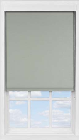 Premium Roller Blind in Silver Glimmer Metallic Blackout