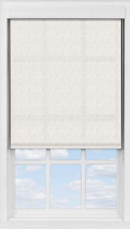 Premium Roller Blind in Herringbone Natural Translucent