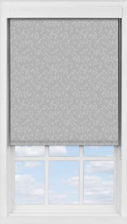 Premium Roller Blind in Barley Fields Grey Blackout