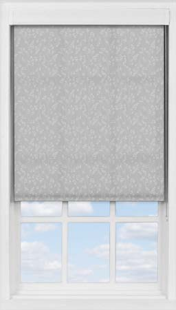 Premium Roller Blind in Barley Fields Grey Translucent