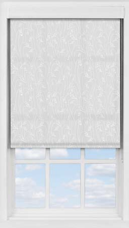 Premium Roller Blind in Wild Geese Light Grey Translucent