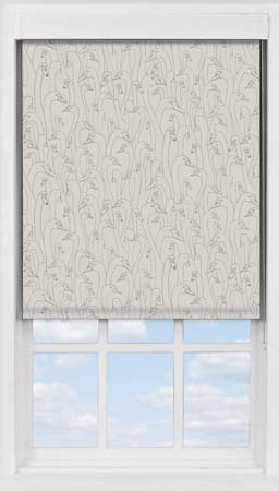 Premium Roller Blind in Wild Geese Taupe Blackout