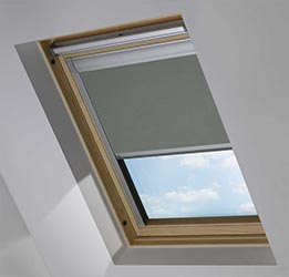 Custom Skylight in Flint Blackout