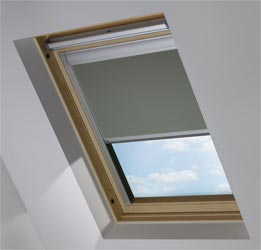 Custom Skylight in Ash Blackout