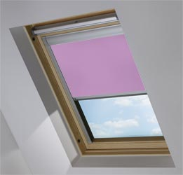 Custom Skylight in Foxglove Translucent