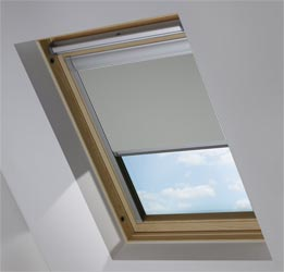 Custom Skylight in Marl Grey Blackout