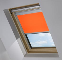 Skylight in Mandarin Blackout