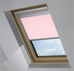 Custom Skylight in Pink Macaroon Blackout