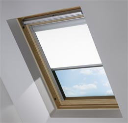Skylight in PVC Frost White