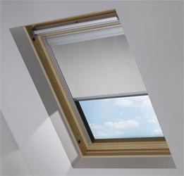 Skylight in PVC Soft Grey