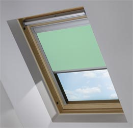 Skylight in Smooth Duck Egg Blackout