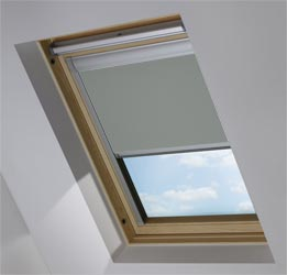 Custom Skylight in Sooty Grey Blackout