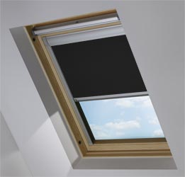 Custom Skylight in True Black Blackout