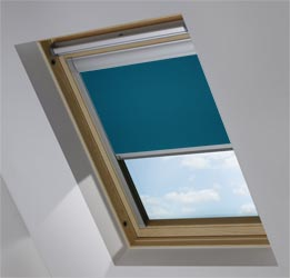 Custom Skylight in Causeway Blue Blackout