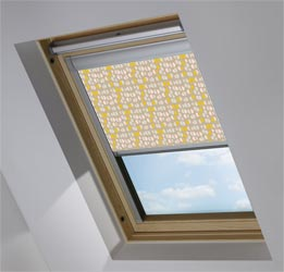 Skylight in Neutral Nursery Blackout