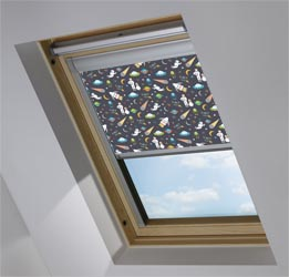 Custom Skylight in Space Age Blackout