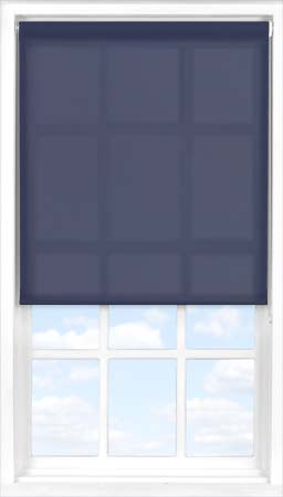 Motorised Roller Blind in Celestial Blue Translucent