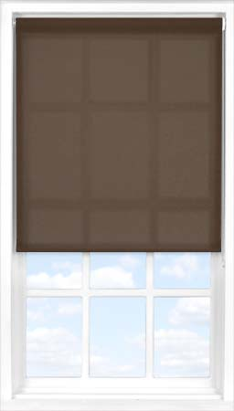Motorised Roller Blind in Cocoa Bean Translucent