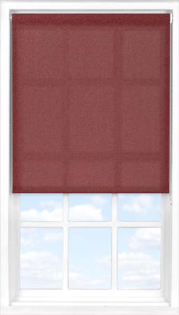 Roller Blind in Plum Translucent