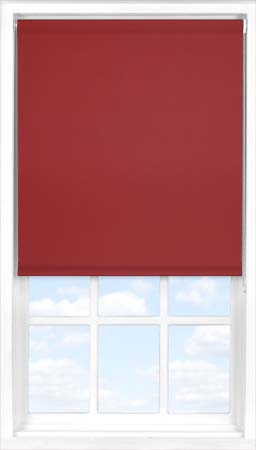 Roller Blind in Ruby Blackout