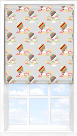 Roller Blind in Hot Air Balloon Ride Blackout