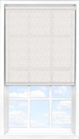 Roller Blind in Herringbone Natural Translucent