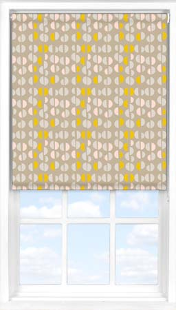Roller Blind in Neutral Nursery Blackout