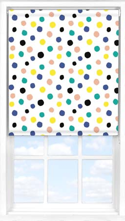 Roller Blind in Pom Pom Blackout