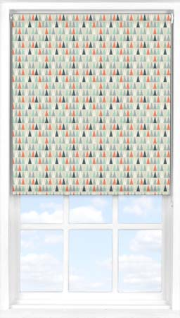 Roller Blind in Contemporary Christmas Blackout