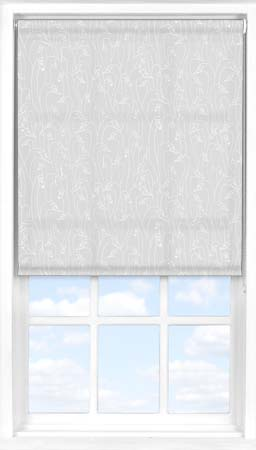 Roller Blind in Wild Geese Light Grey Translucent