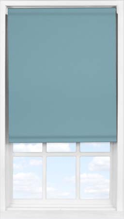 Easifit Roller Blind in Smooth Blue Blackout