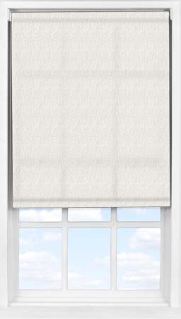 Easifit Roller Blind in Herringbone Natural Translucent