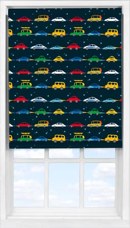 Easifit Roller Blind in Midnight Highway Blackout