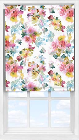 Easifit Roller Blind in Oriental Rose Translucent