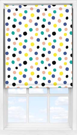 Easifit Roller Blind in Pom Pom Blackout