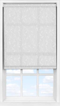 Easifit Roller Blind in Wild Geese Light Grey Translucent