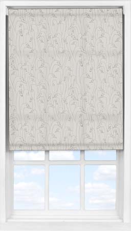 Easifit Roller Blind in Wild Geese Taupe Translucent
