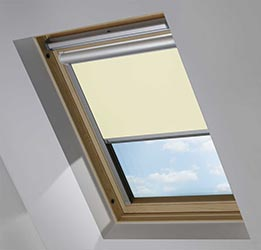 Solar Skylight in Lime Wash Blackout