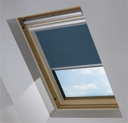 Solar Skylight in Deep Sea Blue Blackout