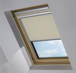 Solar Skylight in Mink Blackout