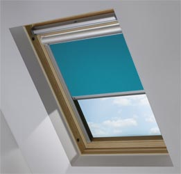 Solar Skylight in Mariner's Teal Translucent