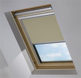 Solar Skylight in Fawn Translucent