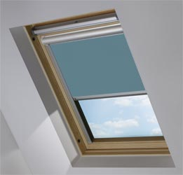 Solar Skylight in Refined Blue Translucent