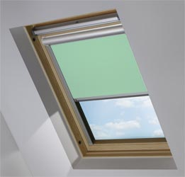 Solar Skylight in Smooth Duck Egg Blackout