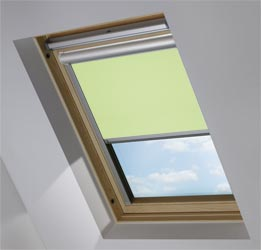 Solar Skylight in Wasabi Green Translucent