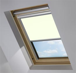 Solar Skylight in Ivory Translucent