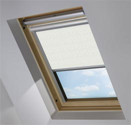 Solar Skylight in Scattered Spots Duck Egg Blackout